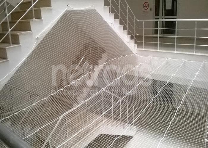 Merdiven Çevresi Koruma File Ağları