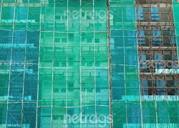 Binalar için güvenlik palet file ağları